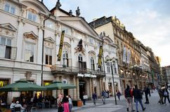 Street in the city of Vienna Stock Image