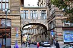 Street in the city of Vienna Stock Photography