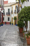 Street historic center of Cordoba Royalty Free Stock Image