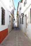 Street Historic District of Cordoba Stock Photos
