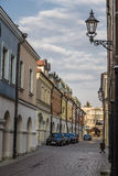 Street in the historic district Stock Photography