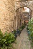Street in the historic Italian city Royalty Free Stock Photo
