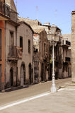 Street in the historical city center. Stock Photo