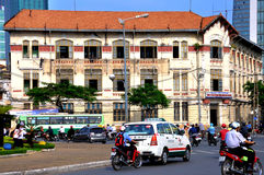 Street of Ho Chi Minh City Stock Image