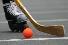 Street hockey #1 Stock Photos