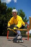 Street hockey 1 Stock Photos