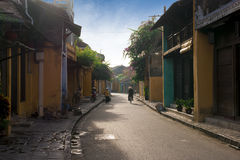 Street of Hoi An in eraly morning Stock Photography