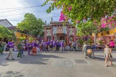 Street, Hoi An, Vietnam Stock Image