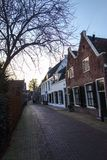 Street in Holland Royalty Free Stock Photography