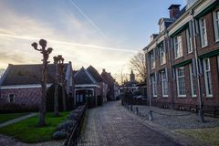 Street in Holland Royalty Free Stock Images