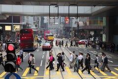 Street in Hong Kong Stock Image