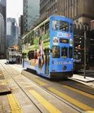 Street in Hong Kong. China Royalty Free Stock Photo