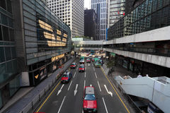 Street in Hong Kong Royalty Free Stock Photos
