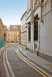 Street and houses in London Stock Images