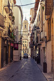 Street. Of Huesca. Aragon. Spain Royalty Free Stock Image