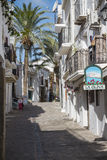 Street in Ibiza Stock Images