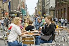Street ice cream cafe Stock Image