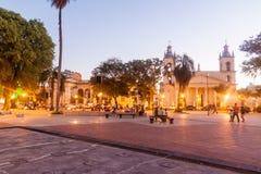 Street In Corrientes, Argentina Royalty Free Stock Photo
