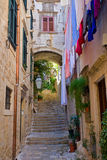 Street In Dubrovnik Royalty Free Stock Photos