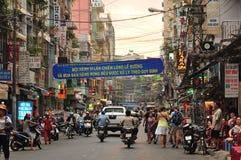 Street In Saigon, Vietnam Royalty Free Stock Photos