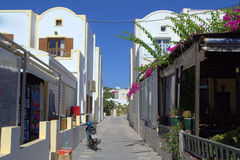 Free Street In Santorini Stock Photos - 34160353