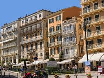 Free Street In The Old Town In Corfu Town On The The Greek Island Of Corfu Stock Photography - 101424382