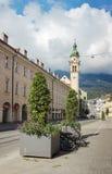 Street in Innsbruck, Austria Stock Image