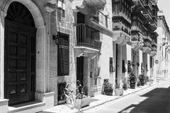 Street on the island of Malta Stock Photography