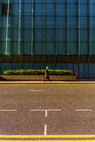 Street in Isle of Dogs in London Stock Images