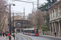 Street in Istanbul. Turkey Royalty Free Stock Photography