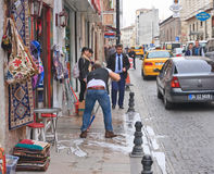 Street in Istanbul. Turkey Stock Image