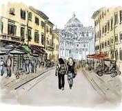 Street in Italy Stock Photos