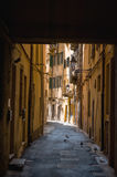 Street in Italy Royalty Free Stock Images