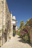 Street in jaffa tel aviv israel Stock Images