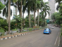 A street in Jakarta Royalty Free Stock Image