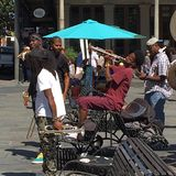 Street Jam Session, New Orleans Royalty Free Stock Photography