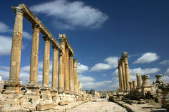 A street in Jerash Royalty Free Stock Photography