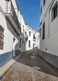 Street of Jerez de los Caballeros Royalty Free Stock Photos
