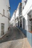 Street of Jerez de los Caballeros Royalty Free Stock Images