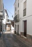Street of Jerez de los Caballeros Royalty Free Stock Image