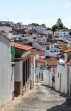 Street of Jerez de los Caballeros Stock Photos