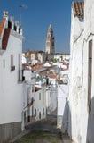 Street of Jerez de los Caballeros Stock Image