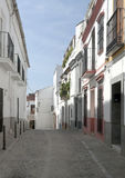 Street of Jerez de los Caballeros Stock Images