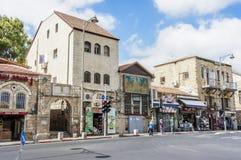 Street of Jerusalem Stock Photo