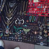 Street jewelry Royalty Free Stock Images