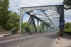 Street on Jozef Pilsudski Bridge in Torun Stock Photos