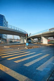 Street junction Stock Images