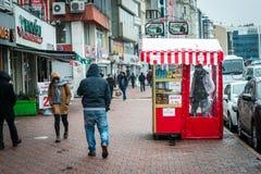 Street of Kadikoy in Istanbul, Turkey Stock Photos