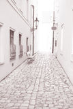 Street in Kampa Island, Prague, Czech Republic Royalty Free Stock Images