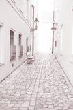 Street in Kampa Island, Prague, Czech Republic Royalty Free Stock Images